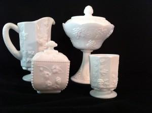 Milk_glass-_four_pieces