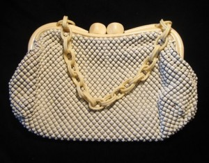 whting and davis purse 1940s