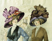 women's picture hats 1911