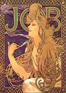 800px-Alphonse_Mucha_-_Job_Cigarettes_1